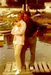 Lale und Artur in Nizza 1969