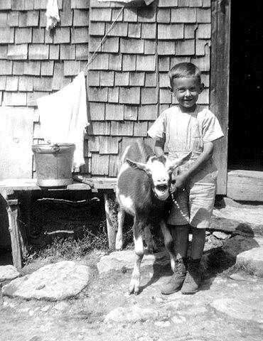 Artur Beul auf der Käsernalp (1919)