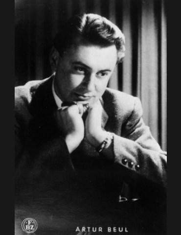 Artur Beul - Autogrammkarte (1942)