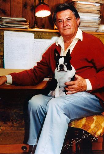 Artur Beul mit Rica, 1990