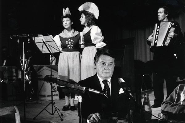 Artur Beul-Abend in Einsiedeln, 26. Dezember 1987