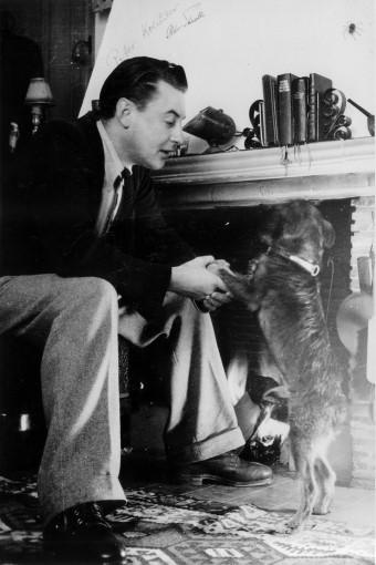 Artur Beul mit seinem damaligen Hund