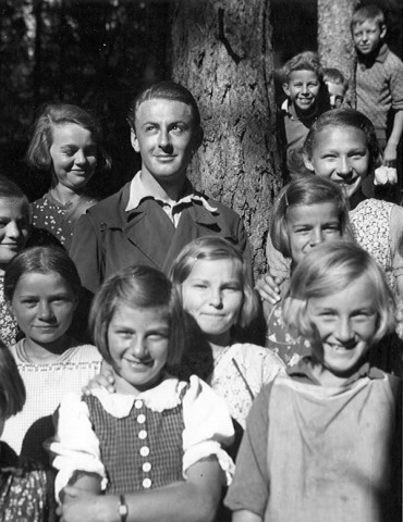 Artur Beul als Lehrer (1943)