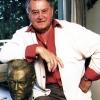 Artur mit seiner Büste, 1986