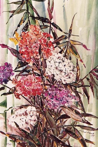 Blumenbild, Artur Beul (1979)