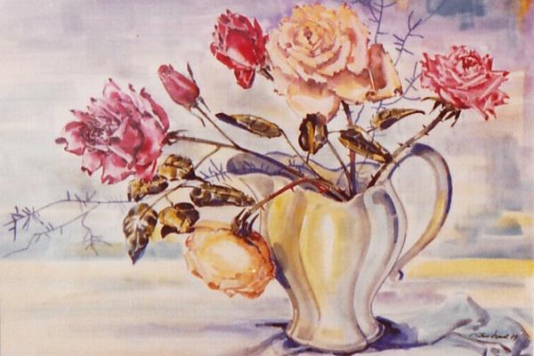 Rosen in Vase, Artur Beul (1979)
