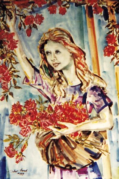 Rosenmädchen, Artur Beul (1979)