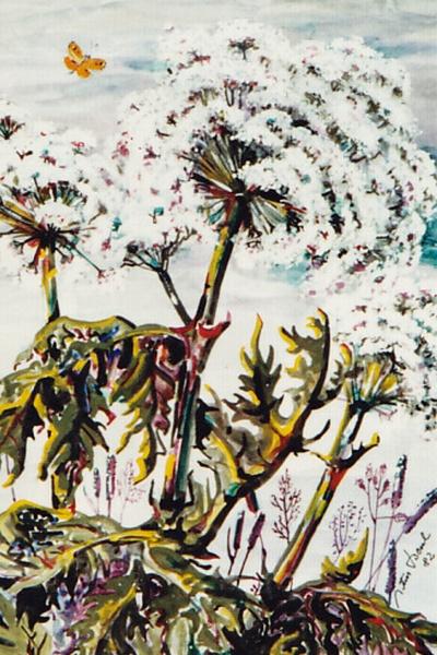 Blumenbild, Artur Beul (1982)