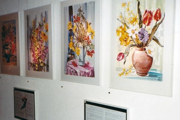 Ausstellung Galerie Flora in Weggis (1983)