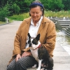 Pat mit Arca (Juli 2000)
