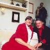 Pat und Artur in der Wohnung im Tessin, 1986