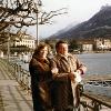 Pat und Artur im Winter 83/84 in Lugano