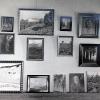 Maler Atelier von Arturs Vater