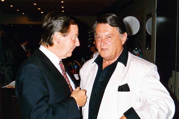 Willy Schmid, Bernhard Theater, 20. September 1988