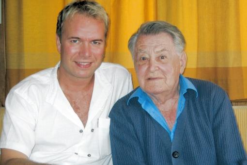 Pfleger und Betreuer Ralph Aebi & Artur Beul
