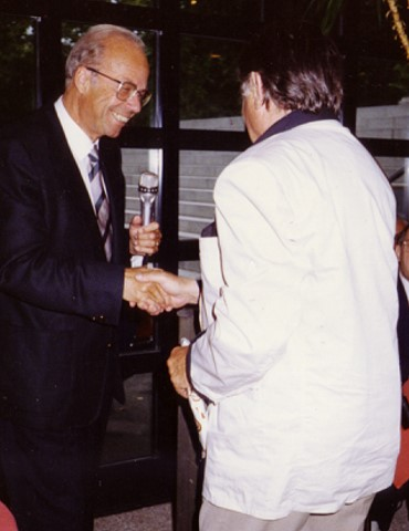 Hans Gmür, September 2002
