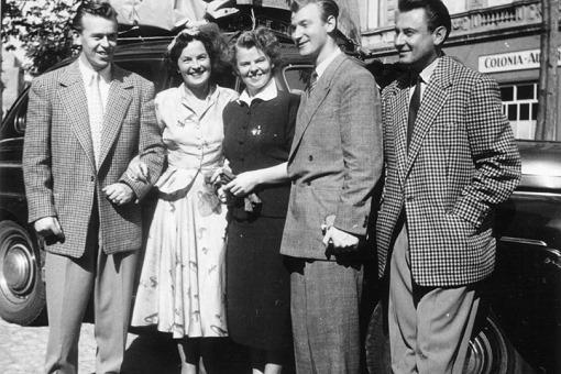 Magda Schneider, Geschwister Schmid und Artur