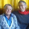 Artur Beul mit Betreuer Peter J. Chiozza
