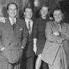 Lou Van Bourg, Geschwister Schmid und Artur Beul
