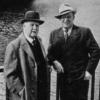 Franz Léhar & Richard Tauber, Quaibrücke Zürich