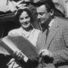 Magda Schneider und Artur in Köln