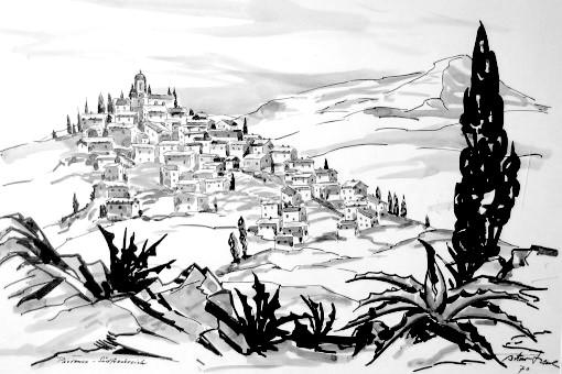 Provenzialisches Dorf