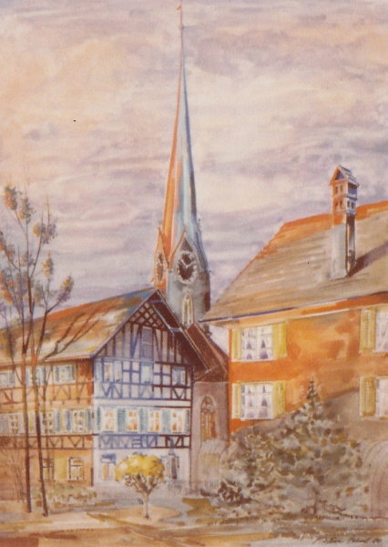 Zollikon Dorf, 1980