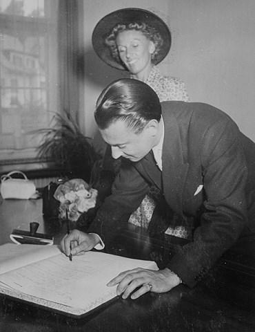 Artur & Lale, Standesamt Zollikon (1949)