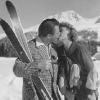 Artur und Lale. Verliebte im Schnee.