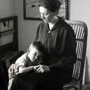 Artur Beul und Mama Louise (Lulu)
