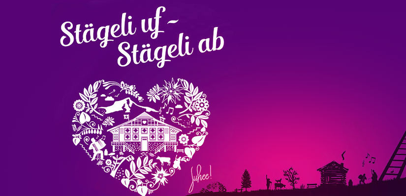 «Stägeli uf – Stägeli ab» in Happy Day
