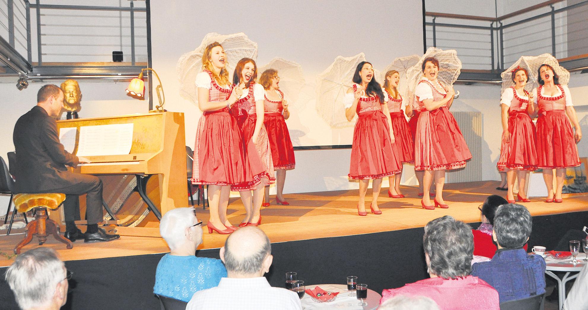 «Swiss Singers» liessen Artur Beul aufleben