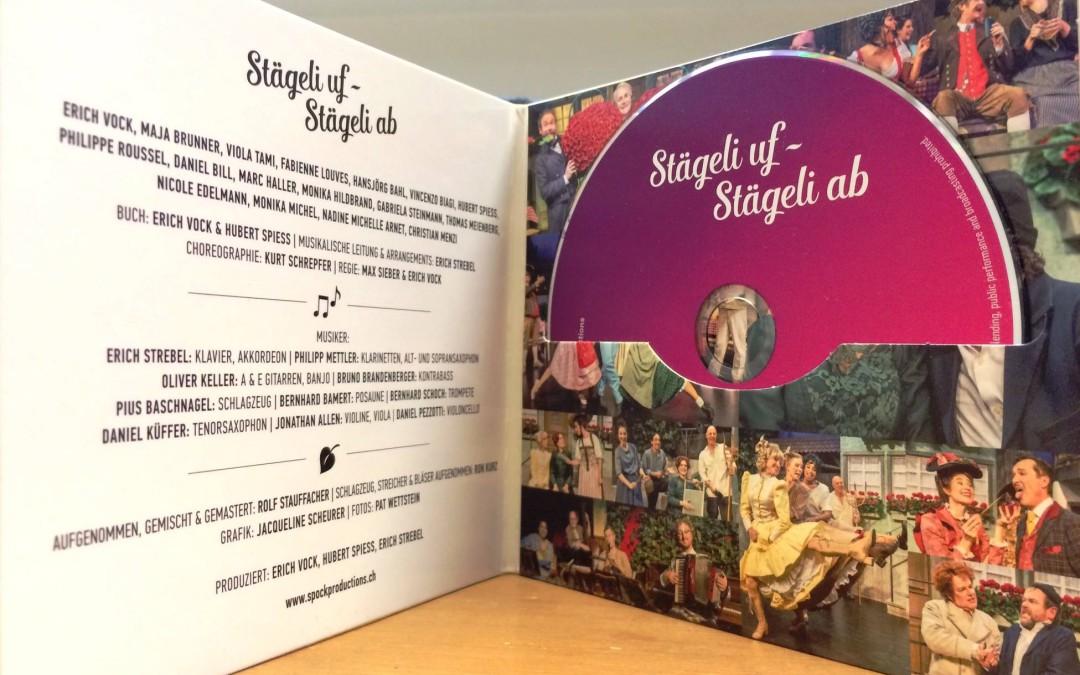 Stägeli uf, Stägeli ab – Die CD ist da!