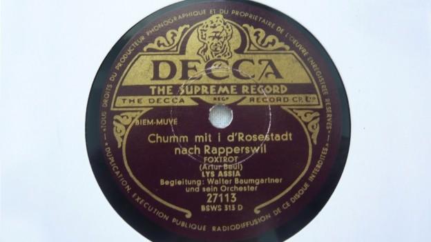 Rapperswil bekommt seine Hymne zurück